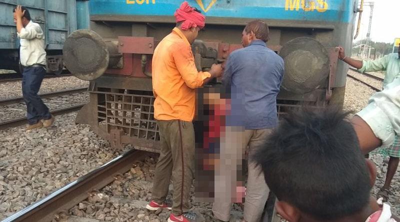 Tenager crushed under train wheels in Uttar Pradesh