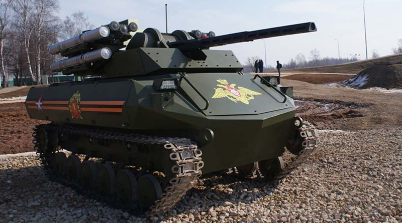 Russia flexes muscle, tests armed robot Uran-9 in Syria