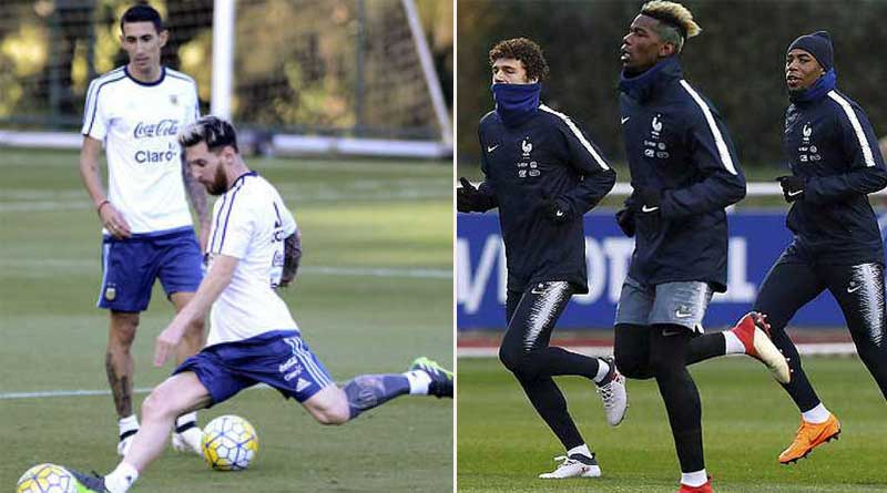 Football World Cup: France to face Argentina