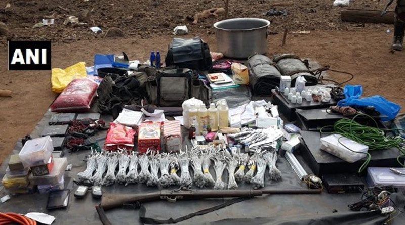Naxal hideout busted in Chhattisgarh, arms recovered