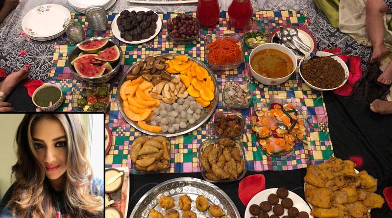 Tanusree Chakraborty attends Nusrat Jahan's Iftar Party