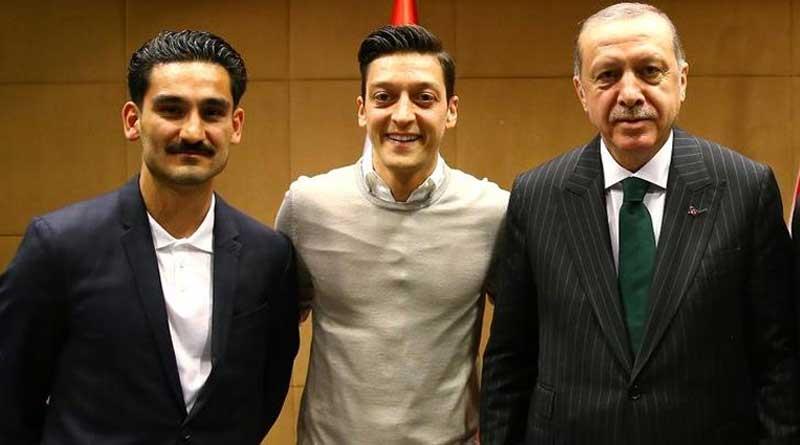 Football World Cup 2018: Erdogan returns German players' gift
