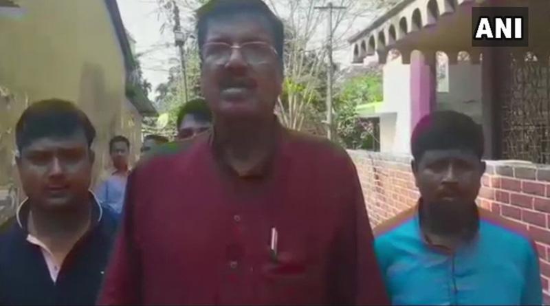TMC minister Rabindranath Ghosh threatens BJP's Dilip Ghosh