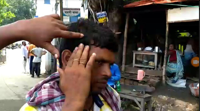 Independent candidate beaten accused BJP candidate