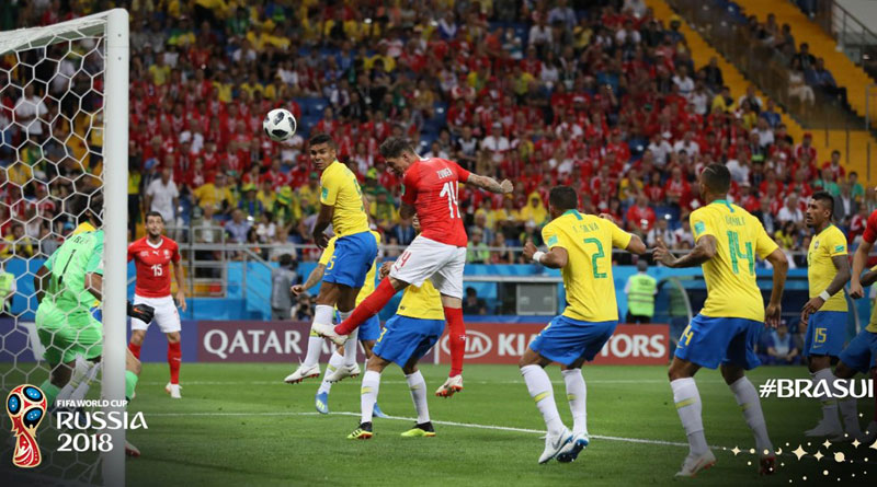 FIFA World Cup: Brazil-Switzerland match ends with a draw