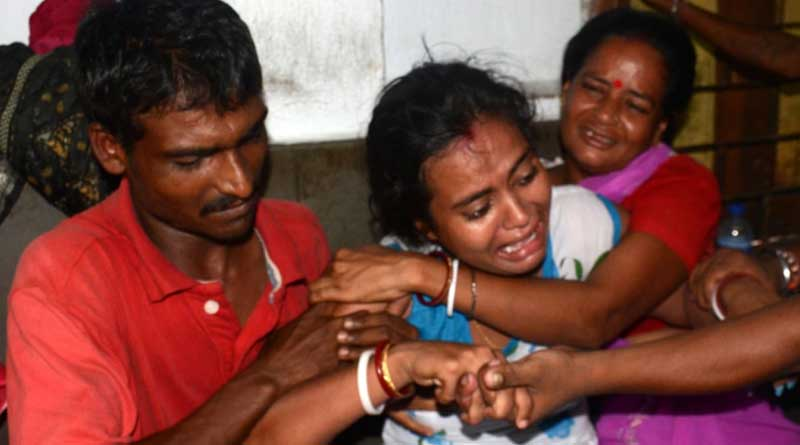 while trying to copy TV scence, child lost life in Icchapur