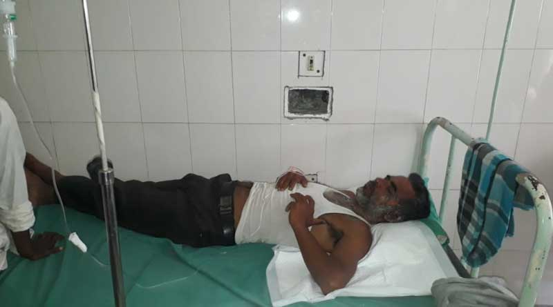 Cochbehar: Criminals allegedly try to kill TMC leader by burning