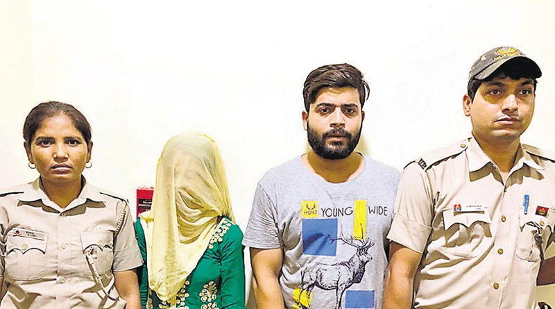 Couple dupes hundreds of men on dating app, held