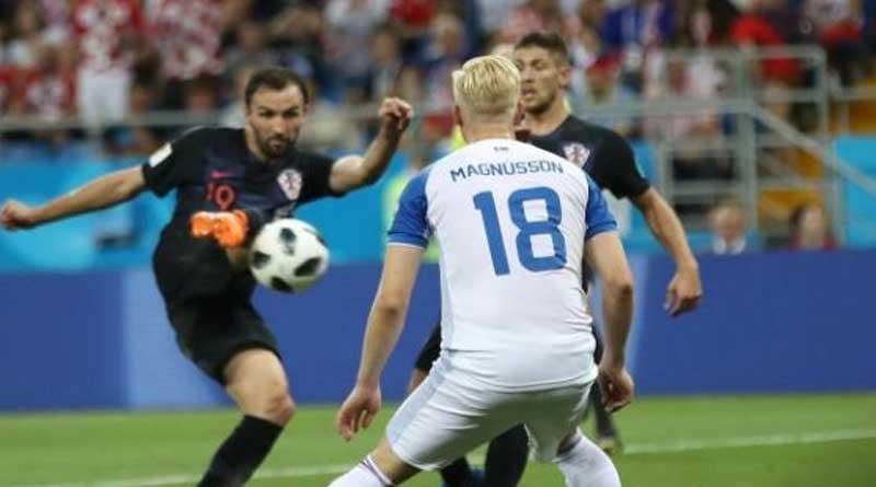 FIFA World Cup: Croatia beats Iceland