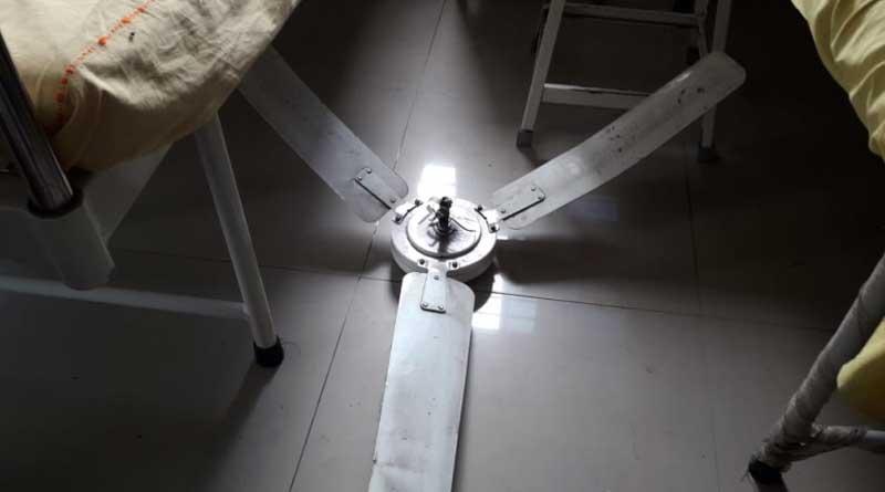 Fan falls on patient in Suri hospital
