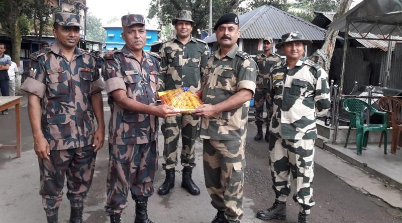 Troops on India-Bangladesh border celebrate Eid