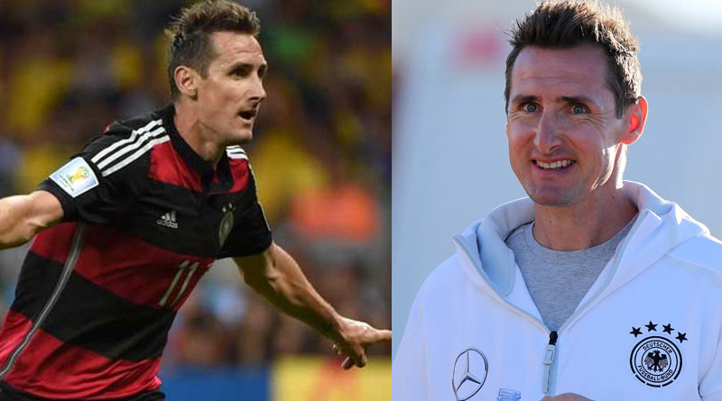 The whereabouts of highest goal scorer in Football WC Klose