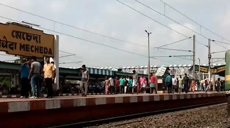 Train mows youth at Mecheda station, locals stage protest