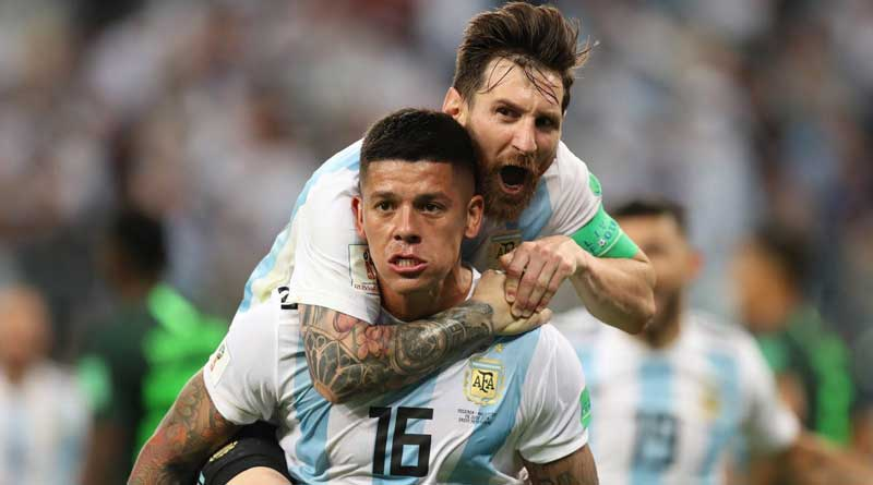 FIFA World Cup 2018: Marcos Rojo reveals what Lionel Messi told teammates during halftime