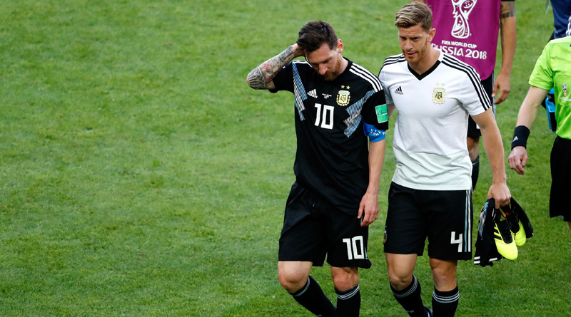 It's my fault, say Lionel Messi after Argentina-Iceland match ends with a draw in world cup