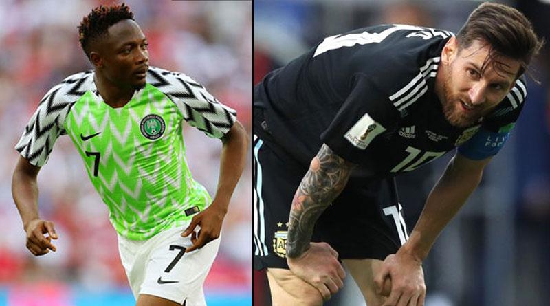 FIFA football world cup 2018: Nigerian player Musa warns Lionel Messi