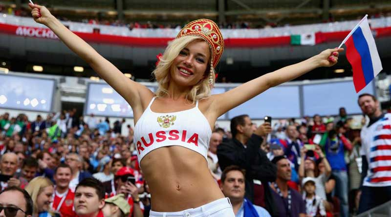 Football world cup: Not adult star, says Russia's hottest fan