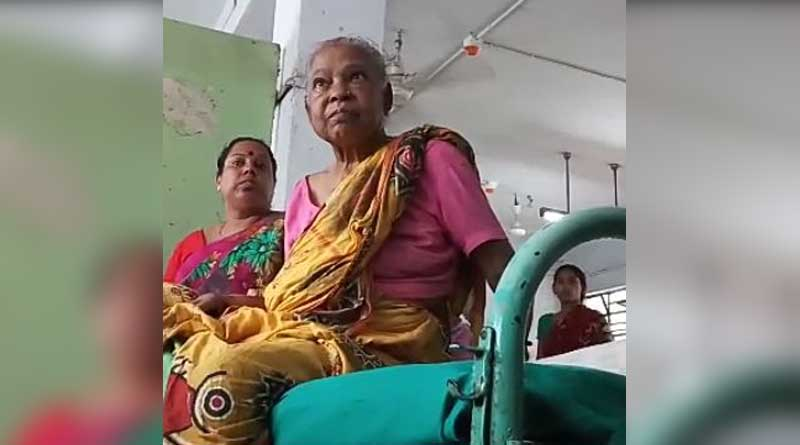 Elderly woman alleges abuse in Nadia Hospital