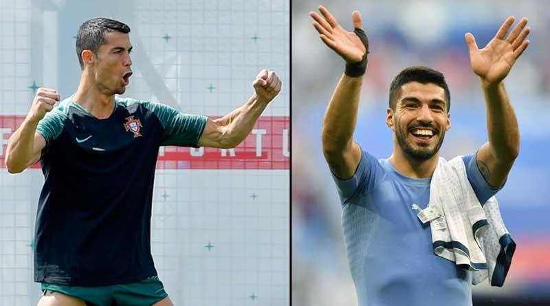 fifa world cup 2018: cristiano ronaldo's portugal to face uruguay