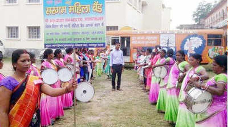 All-women musical band in Bihar