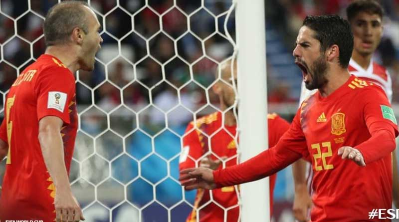 FIFA World Cup2018: Spain through to round of sixteen
