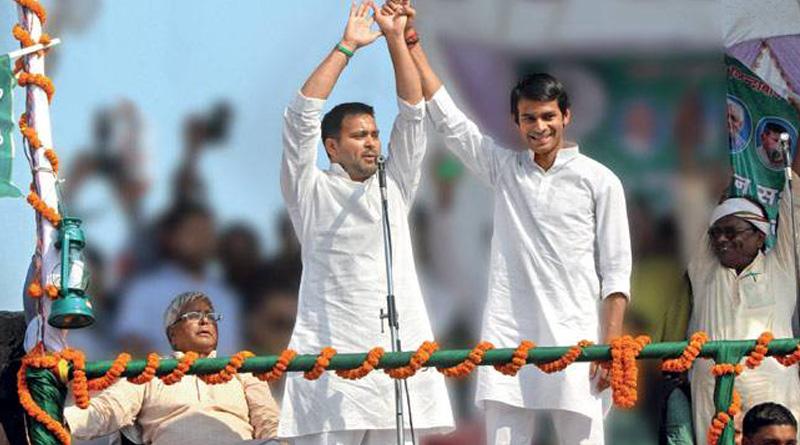 Rift between Laluprasad Yadav's two son grabs headline