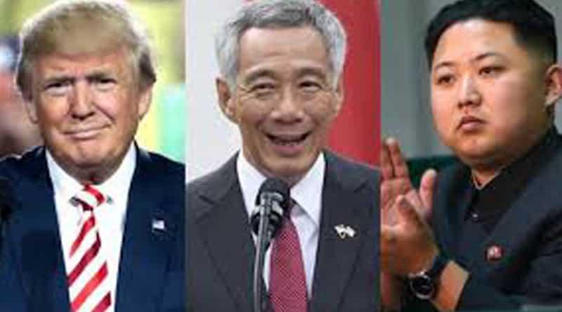 Donald Trump, Kim Jong meet Singapore PM