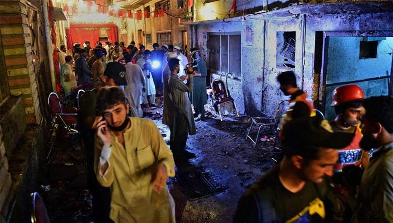 Blast at Pakistan campaign rally kills 20