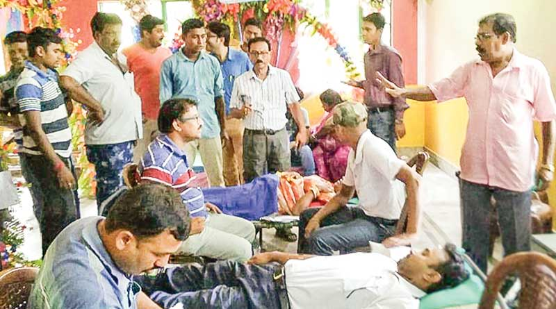 Tehatta couple asks for 'blood' as wedding gift