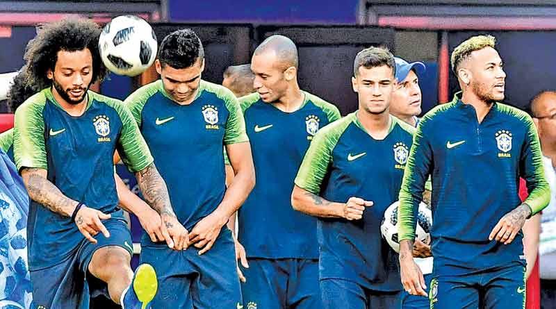 FIFA Football World Cup: Brazil to face Mexico