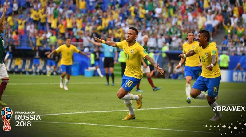 FIFA World Cup: Brazil beats Mexico