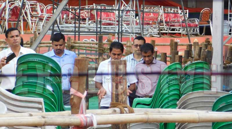 Central team visits Midnapore to probe stage collapse during PM Modi's event
