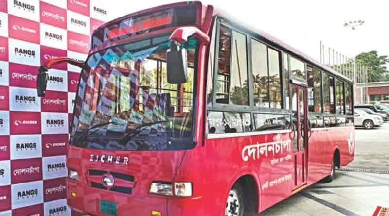 DolonChapa bus will run in Dhaka for women