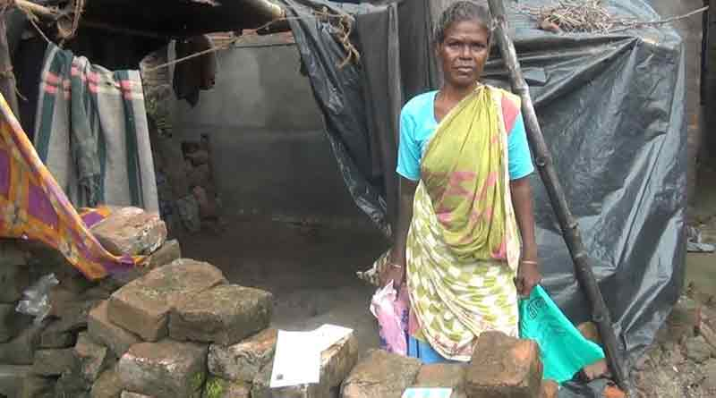 Wrong surname in Ration Card, woman is in hunger