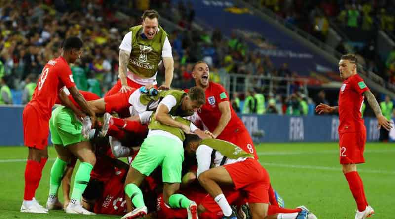 FIFA World Cup: England neats Colombia