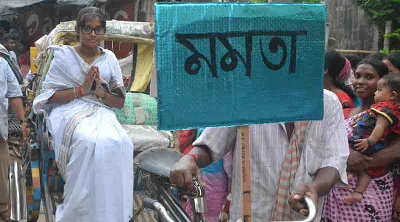 Mamata, Modi, Anubrata walk together in Suri rally
