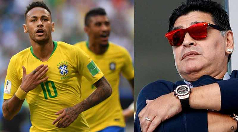 Football World Cup 2018: Maradona says Brazil are favorites to win the Cup