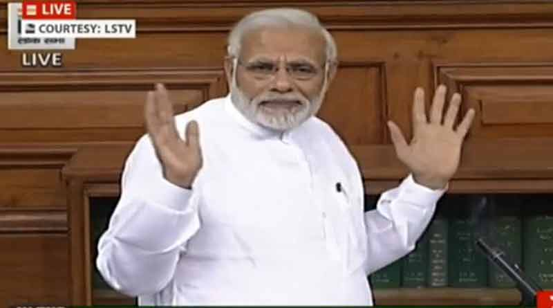 Modi hits back at opposition over No Confidence Motion