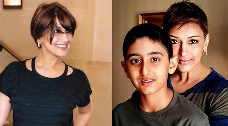 Sonali Bendre tells son Ranveer about cancer diagnosis