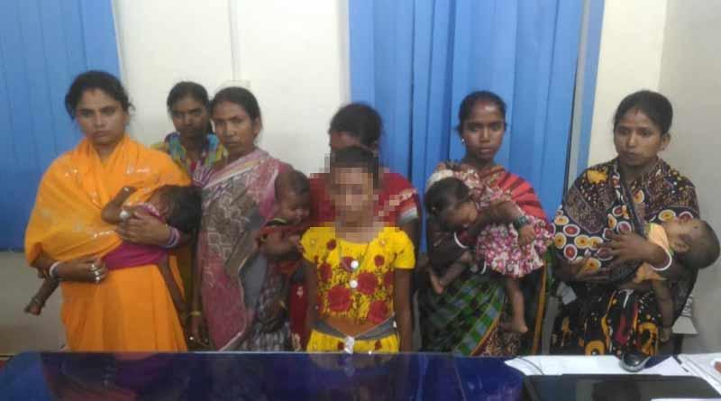 Bongaon police arrested 7 women from Rath Mela