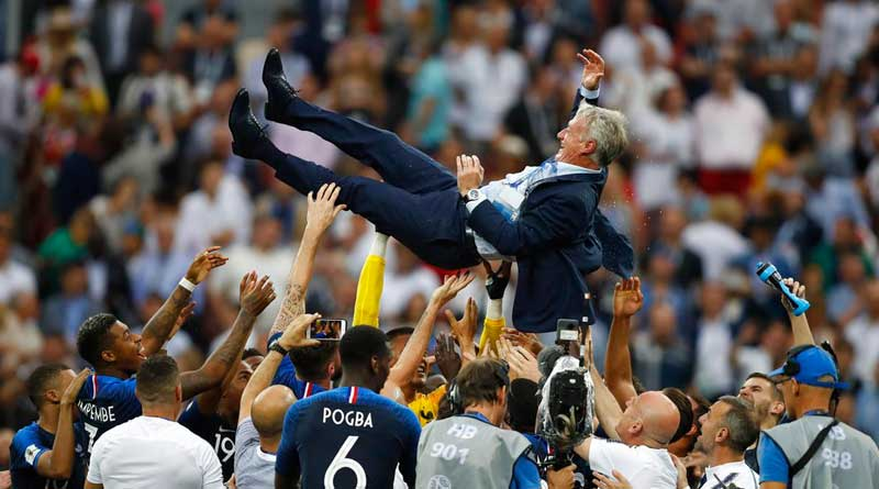 Didier Deschamps becomes the 3rd person to win worldcup as player and coatch