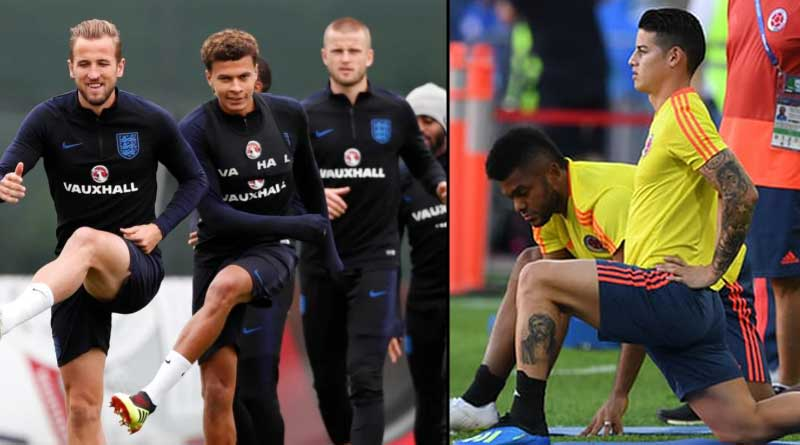 FIFA World Cup: England to face Colombia