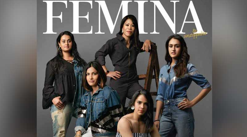 2018 Commonwealth Games's golden girls on Femina cover page