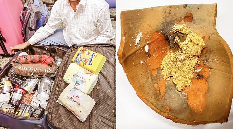 Gold smuggler apprehended at Dum Dum airport