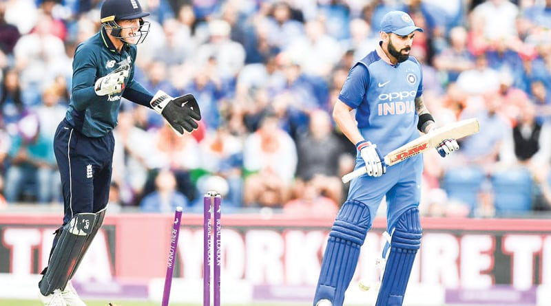 India bows down to England, loses ODI series