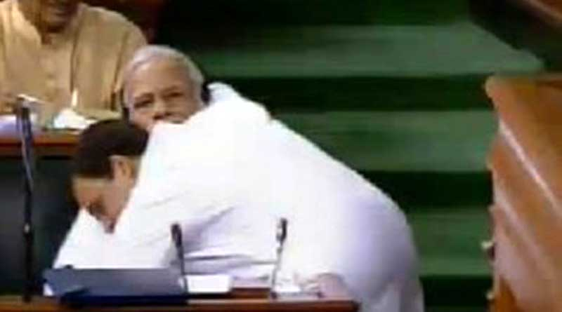 Rahul Gandhi may face hit for hugging Pm Modi in Parliament