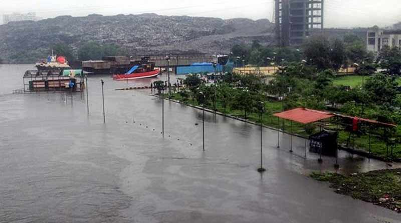 Navy called for rescue ops in flooded Mumbai