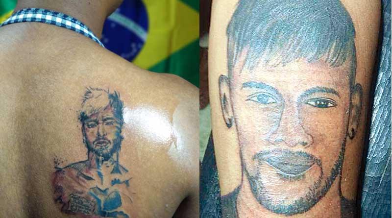 Neymar fever grips Kolkata, tattoo huge hit