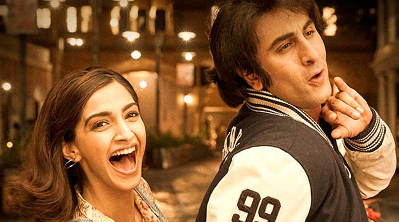 'Sanju' movie beats  'Baahubali 2', sails into 100 crore club