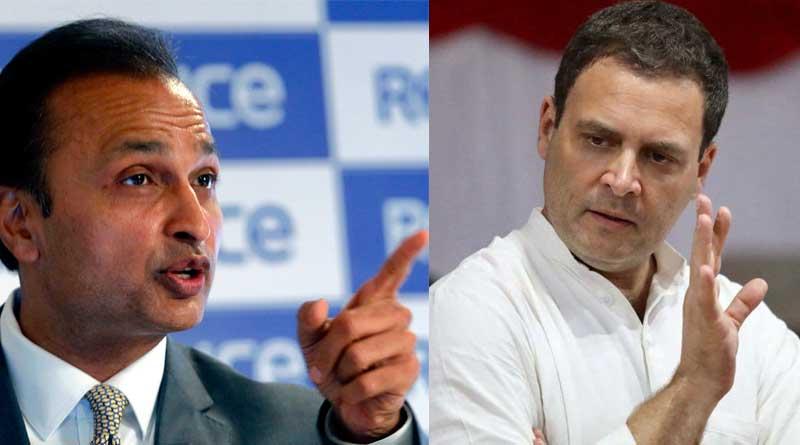 Anil Ambani writes letter to Rahul Gandhi over Rafale row